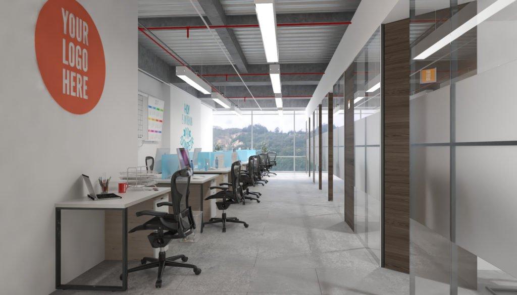 Estaciones de trabajo y oficinas privadas