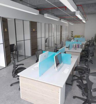 Estaciones de trabajo en Bogotá Coworking