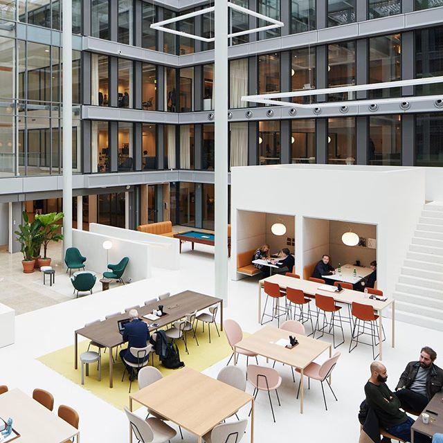 Distribución de espacios de Spaces Amstel en Amsterdam.